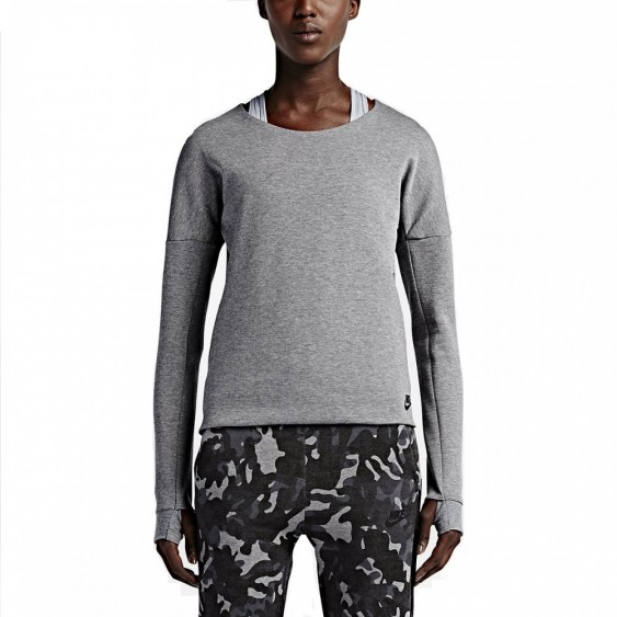 NIKE Sweat Nike Tech Fleece Crew - 685748-091
