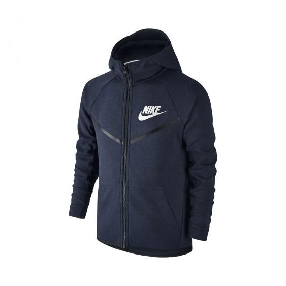 NIKE Sweat Nike Tech Fleece Windrunner Junior - 804730-473