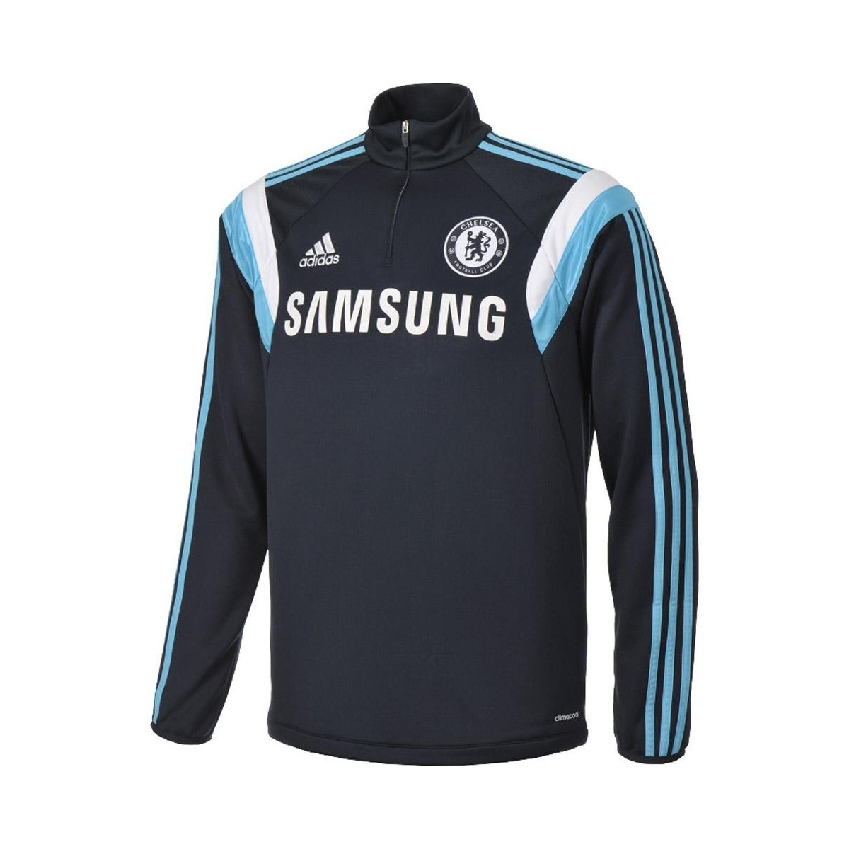Sweat Chelsea Samsung Adidas Vintage Football Homme