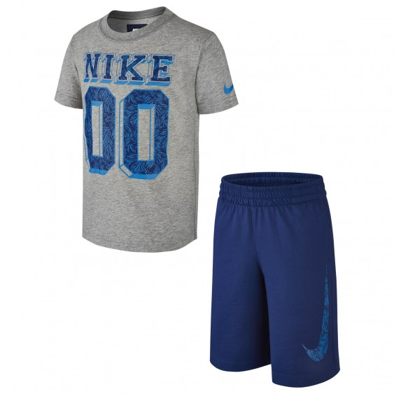 Ensemble short et tee-shirt Nike Graphic 1 - 728544-063