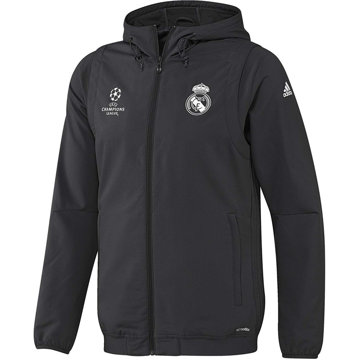 Veste de football adidas performance Real Madrid Junior