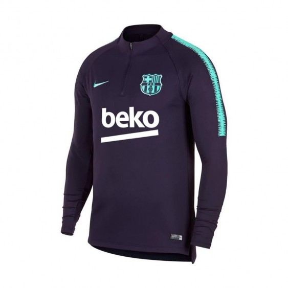 NIKE Maillot de football Nike FC Barcelona Dri-Fit Squad Drill Junior - 894395-525