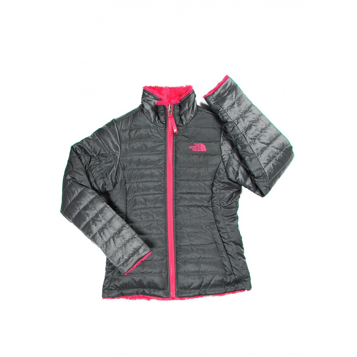 Doudoune The North Face Reversible Mossbud Swirl Filles