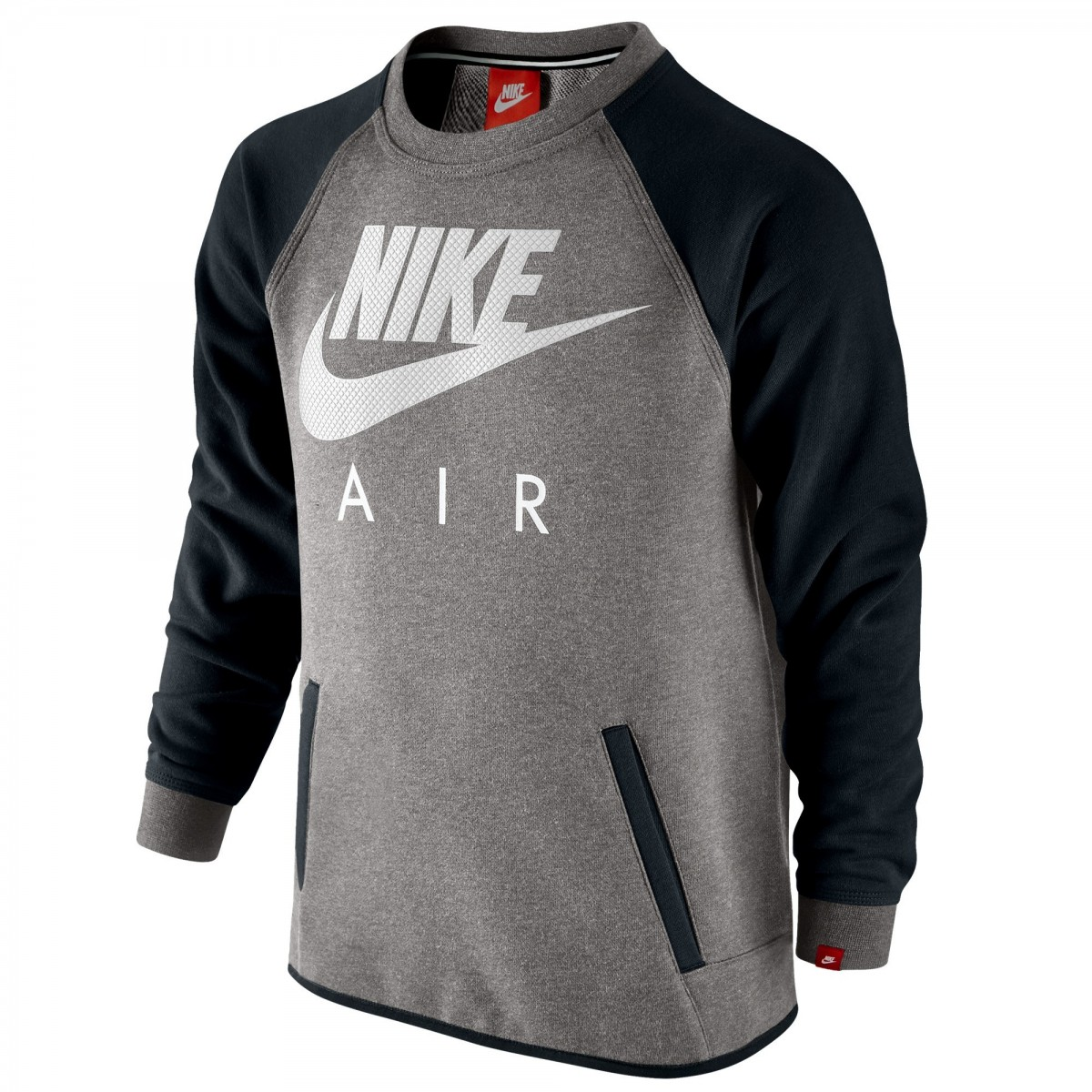nouveau style dd557 75794 Sweat nike Air French Terry Crew Junior
