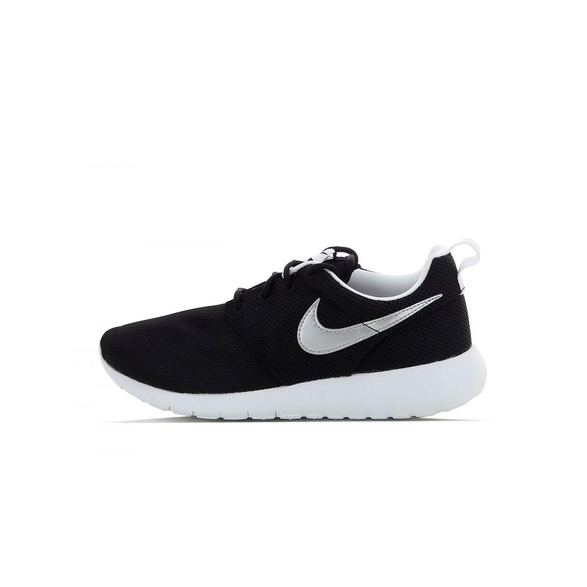 Nike Roshe Run Junior Noir Argent
