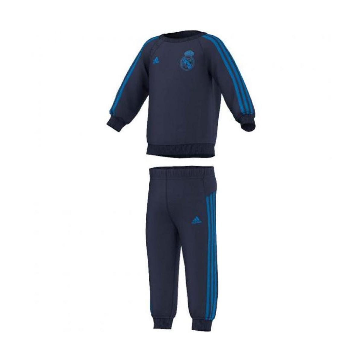 Site De Survetement Adidas Enfant Real Madrid Noir Col Rond