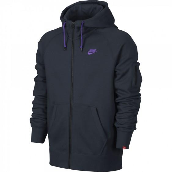 NIKE Sweat Nike AW77 Full-Zip Hoody - 598759-476