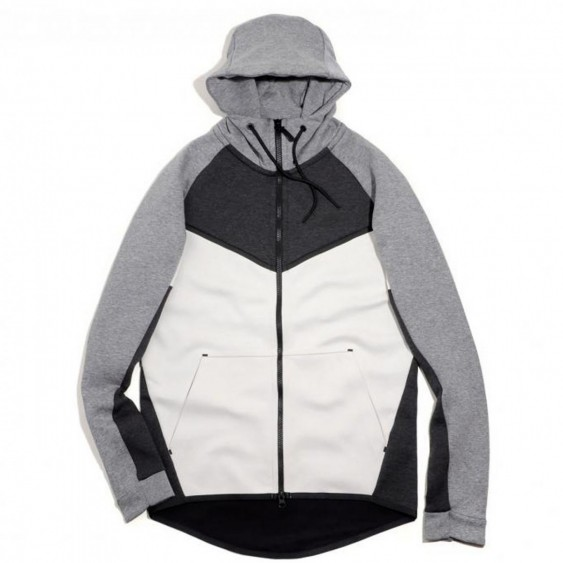 NIKE Sweat à capuche Nike Sportswear Tech Fleece Windrunner - Ref. 885904-032