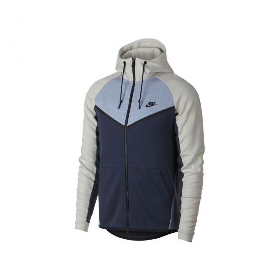 NIKE Sweat à capuche Nike Sportswear Tech Fleece Windrunner - 885904-023