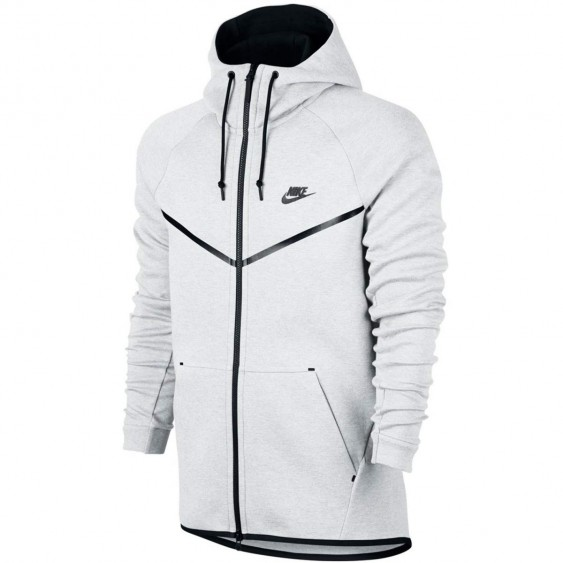 NIKE Sweat Nike Sportswear Tech Fleece Windrunner - 805144-100