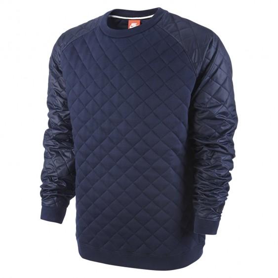 NIKE Sweat Nike Winterised Crew - 678946-451