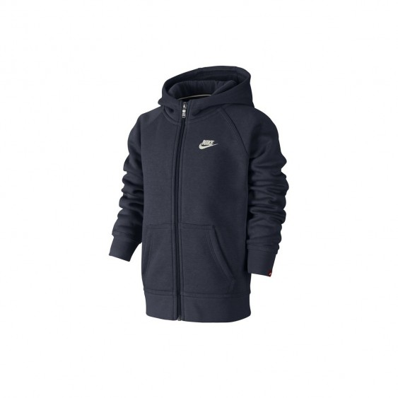 NIKE Sweat Nike Franchise Full-Zip Cadet - 678934-451