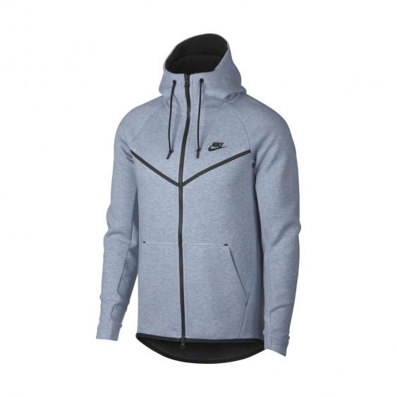 NIKE Sweat à capuche Nike Sportswear Tech Fleece Windrunner - 805144-023