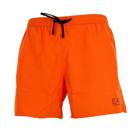 Short de bain EA7 Emporio Armani (Orange)