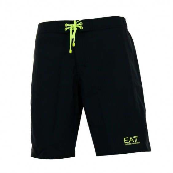 EA7 Short de bain EA7 Emporio Armani (Noir)