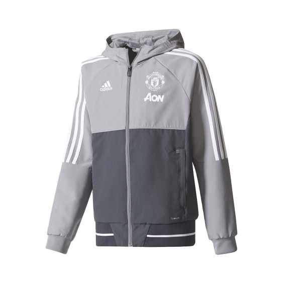 Veste de football adidas performance Manchester United Presentation Cadet