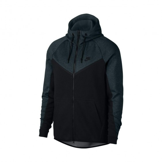 NIKE Sweat à capuche Nike Sportswear Tech Fleece Windrunner - 885904-328