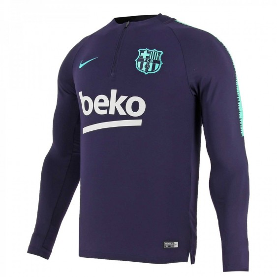 Maillot de football Nike FC Barcelona Dri-Fit Squad Drill - 894316-525