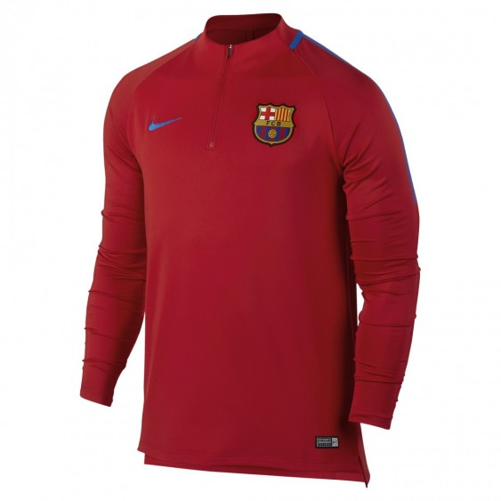 NIKE Maillot de football FC Barcelona Dry Squad Drill - 854191-660
