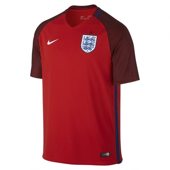 Maillot de football Nike Angleterre Stadium Away 2016 - 724608-600