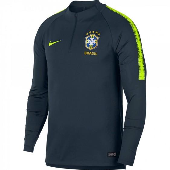 Maillot de football Nike Brasil CBF Dri-Fit Squad Drill - 893331-454