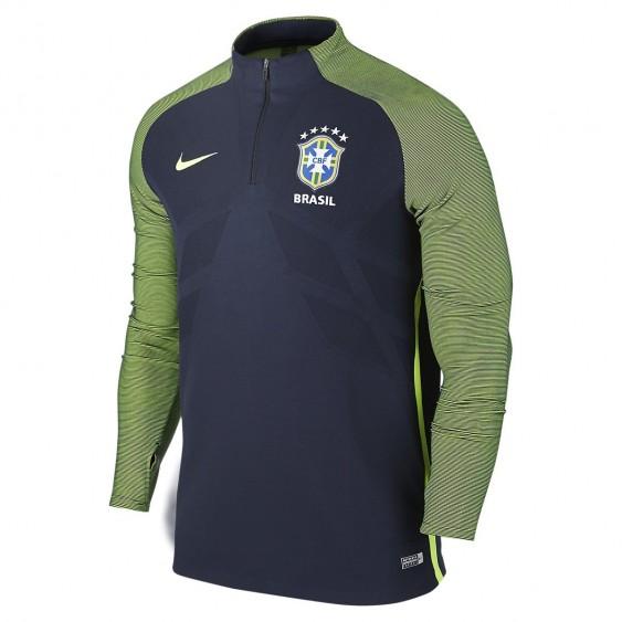 Sweat Nike Brésil CBF Strike Drill - 725306-475