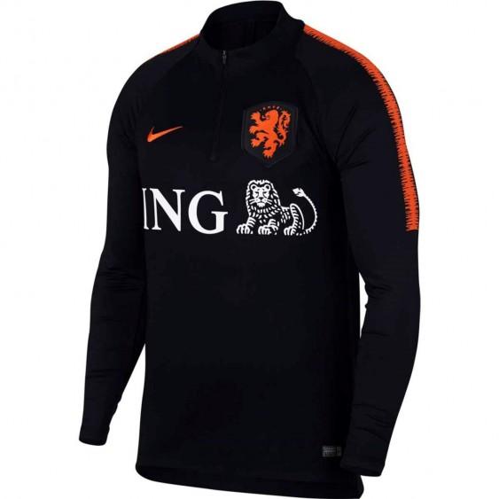 NIKE Maillot de football Nike Pays-Bas Dri-Fit Squad Drill - 893340-011