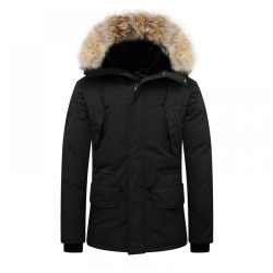 Parka Helvetica Expedition Men Raccoon Edition